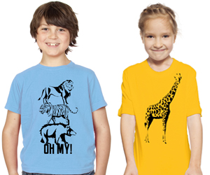 Tiger Prints T-Shirts